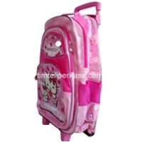 Tas trolley ransel Hello Kitty